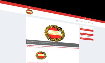 Velkommen til vår nye hjemmeside
